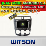 Witson Android 5.1 Car DVD GPS for Honda City (A5777)