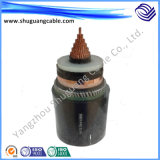 Flame Retardant XLPE Insulation PVC Sheath Armored Electrical Power Cable