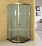 Golden Color Aluminum Frame Shower Enclosure (A-871)