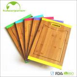 Wholesale Rectangle Organic Bamboo Cutting Board