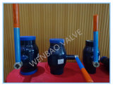 Big Size Forged Steel 2-Way Ball Valve for Industrial Usage