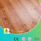 Commercial 8.3mm E1 AC3 Embossed Walnut U-Grooved Waterproof Laminated Flooring