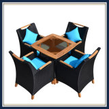 Wholesales Outdoor Garden Table and Chair Dining Set Rattan Furniture