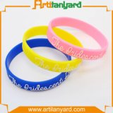 Wholesale Cheap Silicone Wristband with Raised Logo