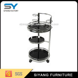 High Quality Hotel Removable Stainless Steel Dining Trolley