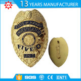 Nolvety Custom Plating Antique Gold Badges Wholesale Souvenir