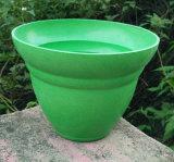 Eco-Friendly Bamboo Fiber Garden, Biodegradable Compostable Home Decoration Flower Pots (BC-FP1015)