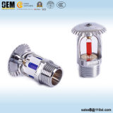 OEM Zinc or Brass Material Upright Fire Sprinkler