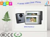 4 Wires Home Security Door Entry System Video Door Bell