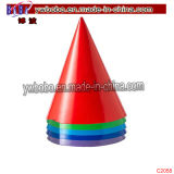 Wedding Christmas Gift Party Supply Primary Colored Party Hats (C2058)