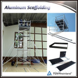 Portable and Durable Mobile Scaffold for Construction