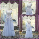 Lace Applique Beaded Prom Dress Evening Dresses Party Dress Ez02