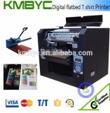 Kmbyc A3 Flatbed High Speed T Shirt Printing Machine