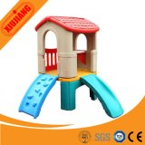 Factory Price Small Plastic Kids Playhouse with Slide