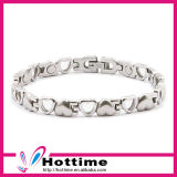 Heart Shape Negative Ion Bracelet for Lady