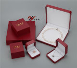 Best Quality Red Color PU Leather Jewelry Box Set
