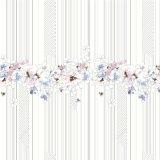 Wholesale Custom Digital Print Chiffon Silk Fabric (SZ-0037)
