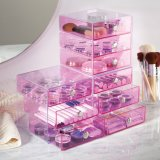 Simple by Practical Home Storage Acrylic Makeup Organizer