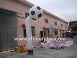 Football Shape Inflatable Air Dancing, Sky Dancer for Advertising
