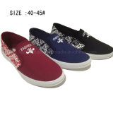 Low Price Fashion Men′s Slip on Canvas Shoes (DL160624-12)