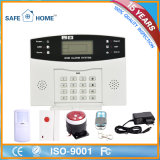 Wireless LCD Display GSM Alarm System with User Manual