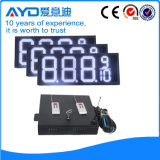Hidly 12 Inch White Electronic LED Gas Price Panel
