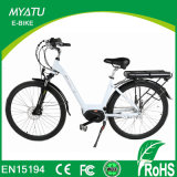 MID Drive Crank Motor City Electric Bike with Torque Sensor Assisted