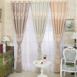 European Style Home Textile Blackout Jacquard Window Curtain (04F0037)