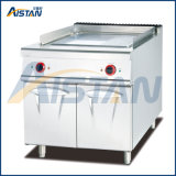 Eh886 Electric Griddle with Cabinet of Catering Equipment