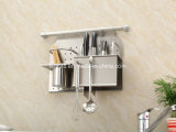 High Quality Fair Price Kitchen Hanging Stainless Steel Spice Rack (306)