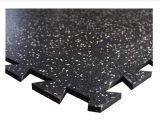 Colorful Interlocking Rubber Floor Tile, Interlocking Gym Rubber Tile