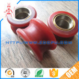 Stainless Steel Bearing Red Polyurethane Roller PU Roller