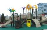 2014 Hot Selling Outdoor Playground Slide with GS and TUV Certificate (QQ12029-5)