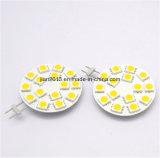 G4 15SMD 5050 12VDC Pure White LED Auto Car Light