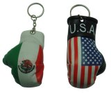 Best Selling Promotional Mini Boxing Gloves Keychain
