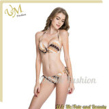 New Plaid Print Push up Molded Cups Women Bikini Swimsuit