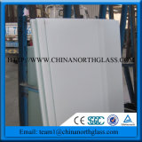 White Painted Glass (Decorative glass)