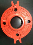 UL Listed, FM Approved, Ductile Iron Grooved Flange Adapter 10""