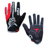 Red High Quality Sport Riding Glove Motorcycle Racing Gloves (MAG56)