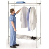 NSF Easliy Clean Metal Wire Shelving for Hospital Dressing Rooms