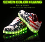The Most Christmas Fashion Flat LED Casual Shoes with 11 Mode Lighting