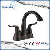 Black Bathroom Orb Lavatory Brass Water Faucet (AF0103-6ORB)