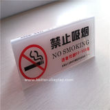 Custom Hotle No Smoking Sign Board (BTR-I2012)