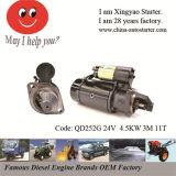 24V 4.5kw 3 Module 12 T Heavy Truck Starter Motor