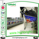 Airport Duty Free Store Shopping Trolley Cart