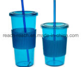 Plastic Mug With Straw,Travel Mugs, Juice Cups