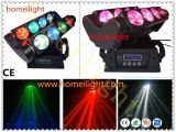 Eight-Eyes 8PCS 10W LED Double Row Moving Head LED Disco /DJ/Wedding Spider Beam Light