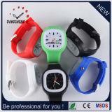 Silicone Strap Waterproof Jelly Luminous Plastic Quartz Wrist Watch (DC-1048)