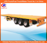 40FT 3 Axle Container Loading Flatbed Semi Trailer