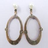 Oval Shape Elegant Fashion Earring